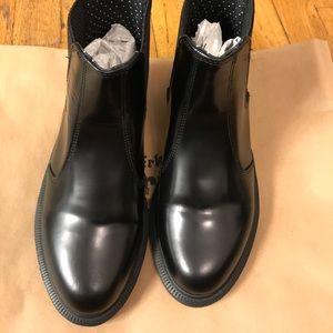 Brand new dr martens, flora black, polished smooth